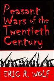 Cover of: Peasant wars of the twentieth century