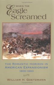 Cover of: When the eagle screamed