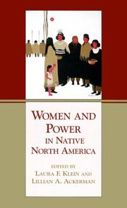 Cover of: Women and Power in Native North America