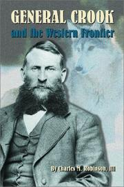 Cover of: General Crook and the western frontier