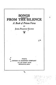 Cover of: Songs from the silence