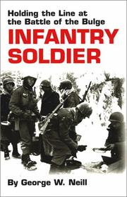 Cover of: Infantry soldier