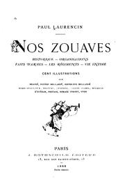 Cover of: Nos zouaves