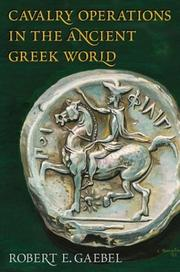 Cover of: Cavalry Operations in the Ancient Greek World