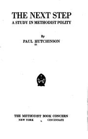 Cover of: The next step | Hutchinson, Paul