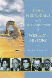 Cover of: Utah historians and the reconstruction of western history
