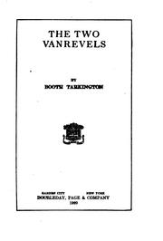 Cover of: two Vanrevels | Booth Tarkington