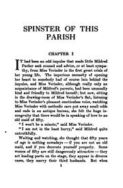 Cover of: Spinster of this parish