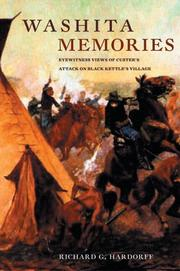 Cover of: Washita memories