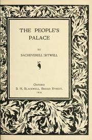 Cover of: The people's palace