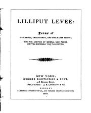 Cover of: Lilliput levee | William Brighty Rands