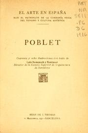 Cover of: Poblet