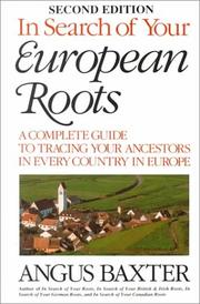 Cover of: In Search of Your European Roots 2nd ed