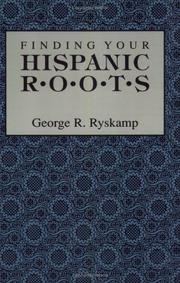 Cover of: Finding your Hispanic roots