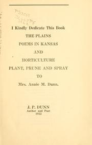 Cover of: The plains