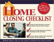 Cover of: Home Closing Checklist