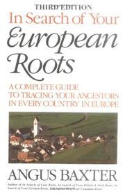 Cover of: In search of your European roots