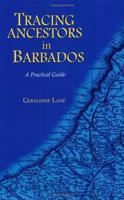 Cover of: Tracing Ancestors in Barbados