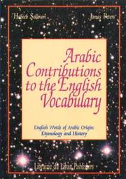 Cover of: Etymological list of Arabic words in English