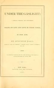 a literary analysis of under the gaslight