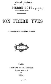 Cover of: Mon frère Yves