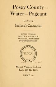Cover of: Posey County water pageant celebrating Indiana