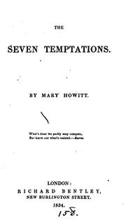Cover of: The seven temptations