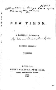 Cover of: The new Timon: A romance of London.