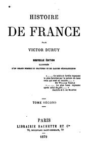 Cover of: Histoire de France