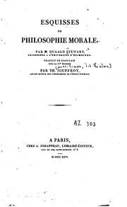 Cover of: Esquisses de philosophie morale