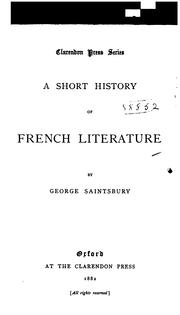 Cover of: Primer of French literature