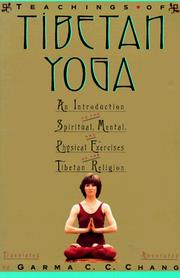 Cover of: The Teachings Of Tibetan Yoga