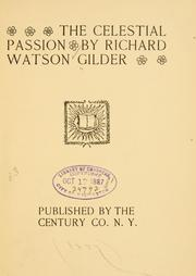Cover of: The celestial passion