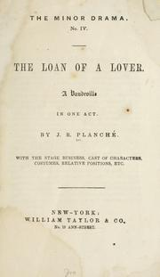 Cover of: The loan of a lover