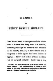 Cover of: The Shelley Papers