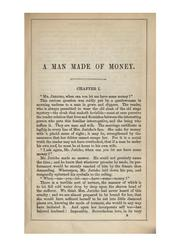 Cover of: A man made of money and The chronicles of Clovernook