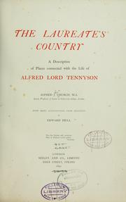 Cover of: The Laureate's country
