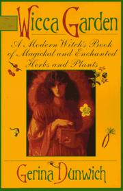 Cover of: The Wicca garden
