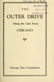 Cover of: The Outer drive along the lake front, Chicago