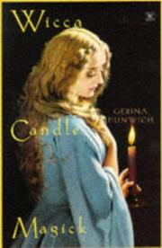 Cover of: Wicca candle magick | Gerina Dunwich