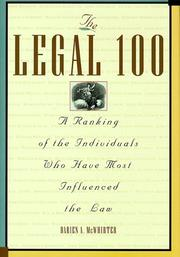 Cover of: The Legal 100