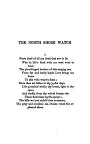 Cover of: The North shore watch and other poems