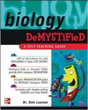 Cover of: Biology Demystified (TAB Demystified) | Dale Layman