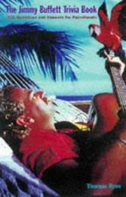 The Jimmy Buffett trivia book