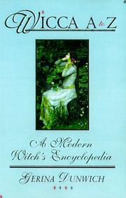 Cover of: Wicca A to Z