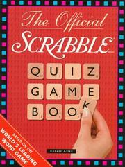 Cover of: The official Scrabble quiz game book