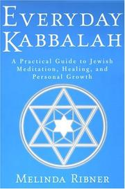 Cover of: Everyday Kabbalah | Melinda Ribner