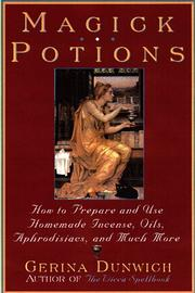 Cover of: Magick potions