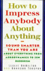 Cover of: How To Impress Anybody | Leslie Hamilton