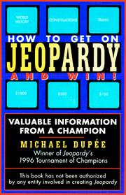 Cover of: How to get on Jeopardy-- and win!